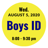 Boys AGS College ID Session Icon August 5, 2020 8 pm