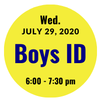 Boys AGS College ID Session Icon July 29, 2020 6 pm
